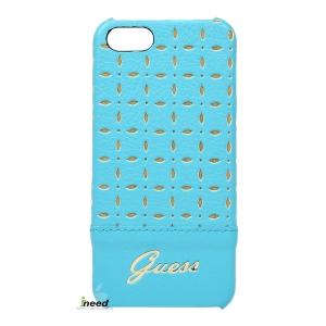 Чехол GUESS для iPhone 5/5S Gianina Hard Turquoise, стильная накладка для Apple, цена в Калининграде  | интернет магазин ineedcom.ru