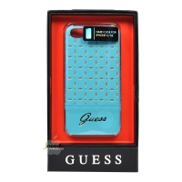 Чехол GUESS для iPhone 5/5S Gianina Hard Turquoise GUHCP5PET