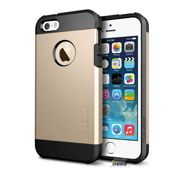 Чехол SGP SGP10584 Tough Armor для iPhone 5/5S, шампань