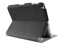 "Чехол PURO для IPAD 2/3/4  Booklet  ""CROCODILE"" w/MAGNET STAND UP,черный  (IPAD2S3CROCOBLK)"