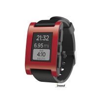 Смарт-часы Pebble Watch red/black