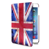 Чехол PURO для iPad Air Zeta Slim UK Flag Case