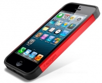 Чехол SGP SGP10100 Slim Armor Color для iPhone 5/5S Красный